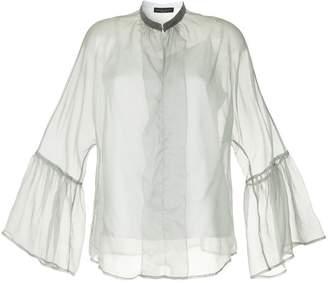 Fabiana Filippi sheer flared sleeves blouse