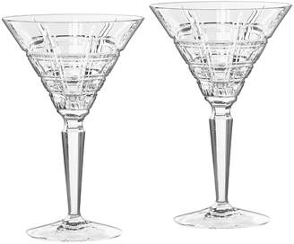 Waterford Marquis Crosby Martini Glass Set of 2