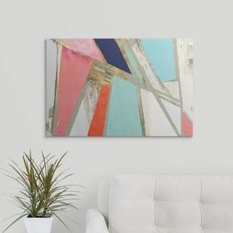 Pi Great Big Canvas 'Warm Geometric' Studio Painting Print