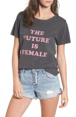 Women's Daydreamer The Future Is Female Graphic Tee $48 thestylecure.com