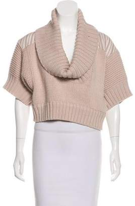 Marc by Marc Jacobs Wool Cropped Sweater