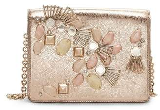 Louise et Cie Sonye – Embellished Chain-strap Shoulder Bag
