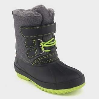 Cat & Jack Toddler Boys' Bastien Winter Boots