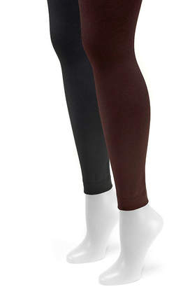 Muk Luks 2-pc. Fleece Lined Tights
