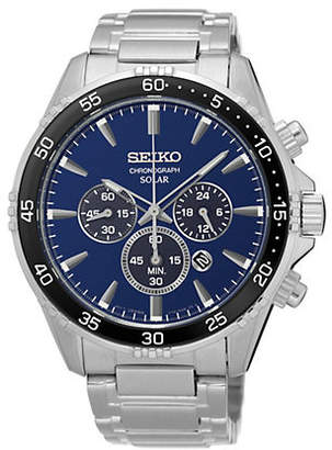 Seiko Mens Solar SSC445P9 Watch