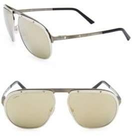 acd1521f99ba ... Cartier Santos Pionnier Aviator Sunglasses