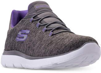 Skechers Women Summits - Quick Getaway Wide Width Walking Sneakers from Finish Line