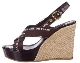 893ed1393e60 Louis Vuitton Covered Heels Women s Sandals - ShopStyle
