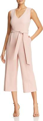 Vince Camuto Belted Cropped Jumpsuit - 100% Exclusive