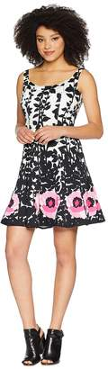 Nine West Sleeveless Fit Flare Dress Women's Dress