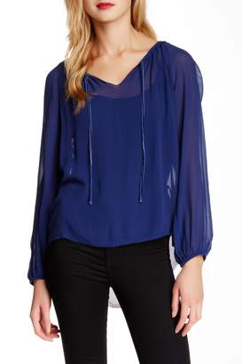 Go Silk go > by GoSilk Go Peasant Silk Blouse