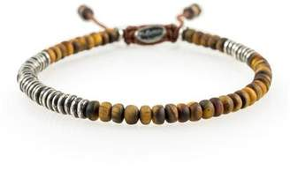 M. Cohen Round Table Bracelet In Tiger Eye