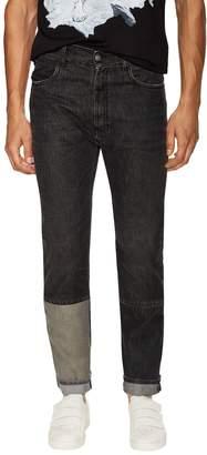 Maison Margiela Men's Contrast Panel Slim Fit Jeans
