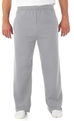 Jerzees Big Men's NuBlend Preshrunk Fleece Open Bottom Sweatpant