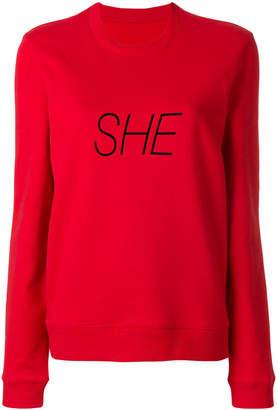 Paco Rabanne SHE sweatshirt