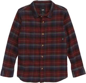 Vans Banfield III Plaid Flannel Shirt