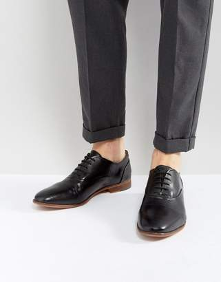 Kurt Geiger London Oliver Leather Shoes In Black