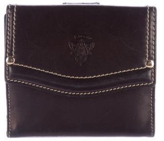 GucciGucci Leather Compact wallet