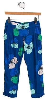 Chloé Girls' Printed Skinny Pants