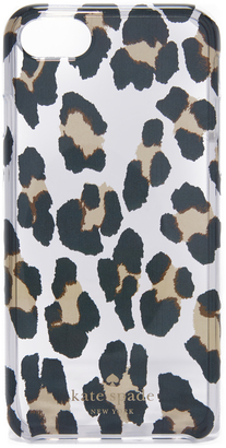 Kate Spade New York Leopard Clear iPhone 7 Case $40 thestylecure.com