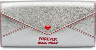Miu Miu Madras envelope wallet