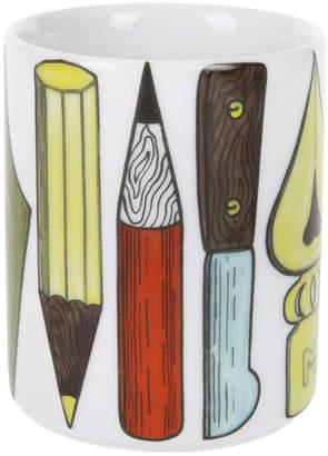 Fornasetti Strumenti Scrittura Pencil Holder
