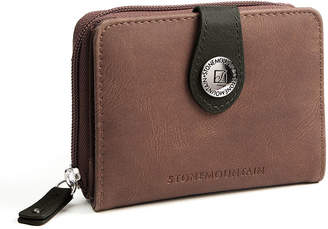 Stone Mountain Nubuck Leather Small Tab Envelope Wallet