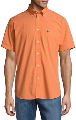 Façonnable Men's Button-Down Cotton Casual Shirt