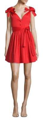 Alexis Kelisi Bow Fit-&-Flare Dress