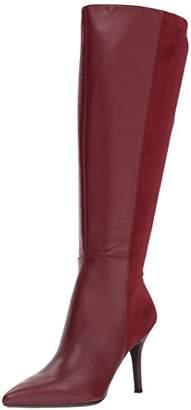 Nine West Women's FALLON9X9W Wine Wide Leather
