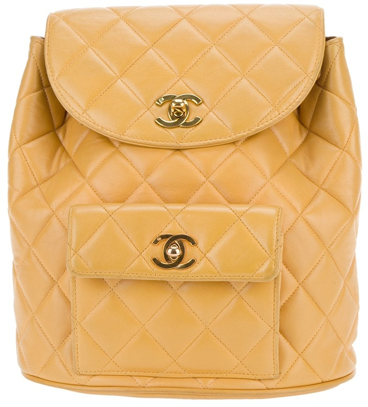 Chanel Quilted Backpack