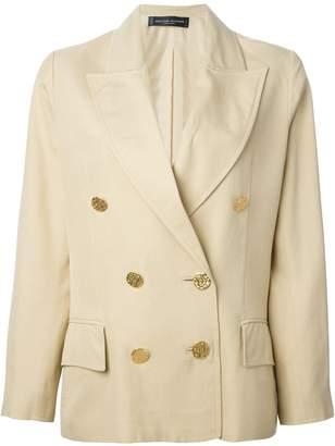 Jean Louis Scherrer Pre-Owned cropped blazer