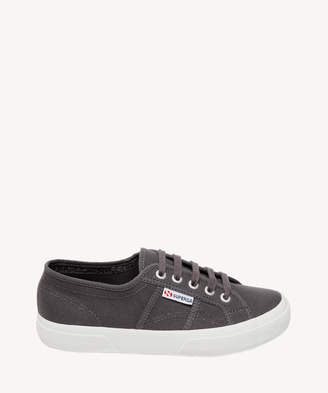 Superga Women's 2750 Cotu Classic Canvas Sneakers Dark Grey/white Size 6 From Sole Society