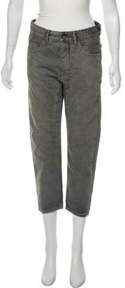 Rick Owens Distressed High-Rise Jeans w/ Tags