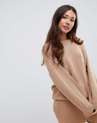 Asos DESIGN premium lounge oversized sweat