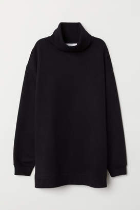 H&M Turtleneck Sweatshirt - Black