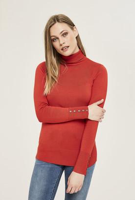 Long Tall Sally Polo Neck Sweater