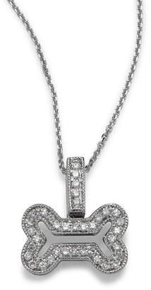 KC Designs 14K Diamond Bone-Shaped Necklace
