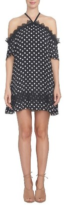 Women's Cece Cold Shoulder Shift Dress $139 thestylecure.com