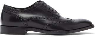 Paul Smith Munroe Leather Brogues - Mens - Black