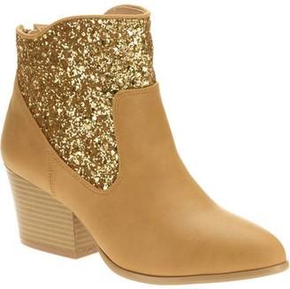 Mo Mo MoMo Women's Makena Sparkle Ankle Boot