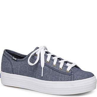 Keds Women's Triple Kick Chambray Sneaker
