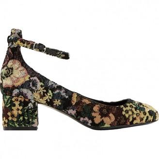 Sandro Multicolour Cloth Heels