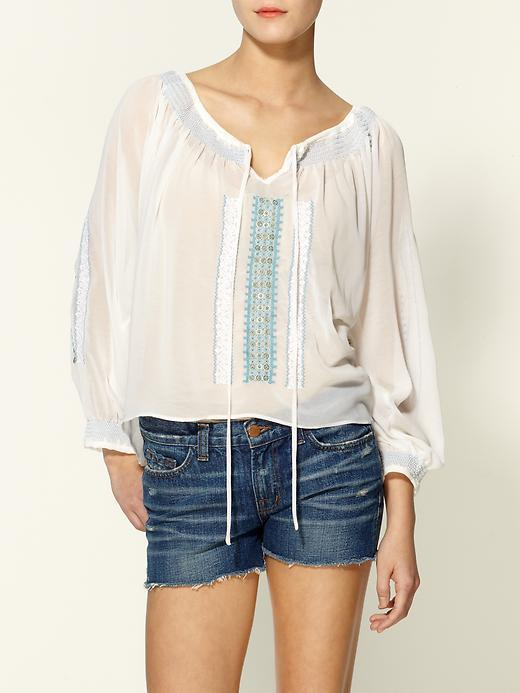 Sabine Embroidered Blouse
