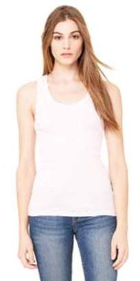 Bella + Canvas Ladies' 2x1 Rib Racerback Longer Length Tank B4070