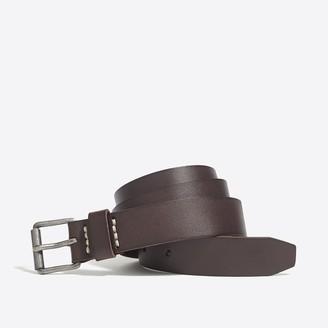 J.Crew Washed leather roller belt