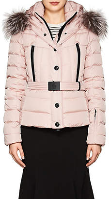 Moncler Women's Beverley Tech-Faille Puffer Coat - Pink