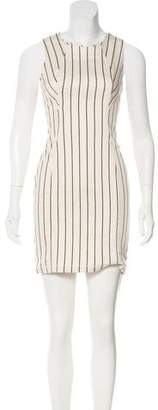O'2nd 1 By Striped Mini Dress