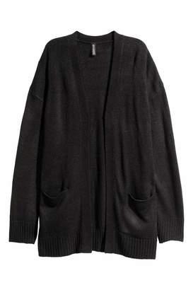 H&M Knit Cardigan - Black - Women