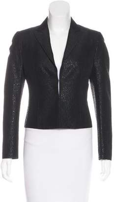 CNC Costume National Metallic Wool-Blend Blazer
